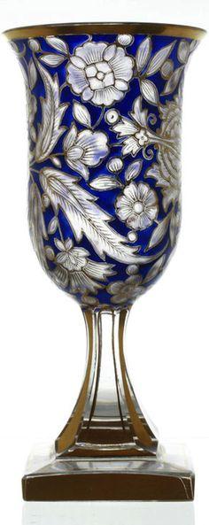 Frivolous Fabulous - Bohemian Glass Vase for Your Gorgeous Roses Frivolous…