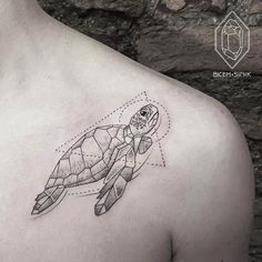 #Turtle #Tattoo by artist Bicem Sinik