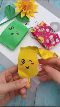 Diy Crafts Hacks, Diy Crafts For Gifts, Diy Home Crafts, Easy Diy Crafts, Diy Crafts Videos, Creative Crafts, Crafts For Kids, Cool Paper Crafts, Paper Flowers Craft