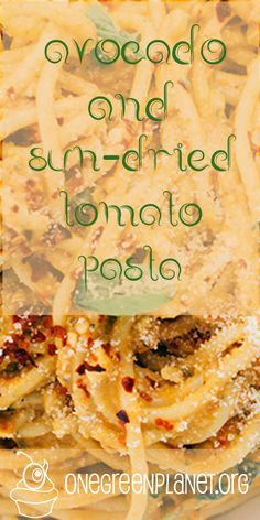 Avocado and Sun-dried Tomato Pasta [Vegan] @crazyvegankitch http://www.onegreenplanet.org/vegan-recipe/avocado-and-sun-dried-tomato-pesto-pasta/ #eatfortheplanet #vegan #veganshare #vegansofig #plantbased #plantpower #healthy #eatclean #yum #foodporn #food #veganfoodporn #veganfood #vegancooking #veggieinspired #plantbasedcooking #plantbased #veg #eatgreen #eatclean #veganfoodshare #meatfree #meatless #dairyfree #plantpower #whatveganseat