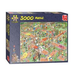 Fun Jan Van Haasteren The Playground themed jigsaw puzzle. Jaba, Baby Quilts, Multimedia, Decorative Accessories, Playground, Board Games, Spiderman, City Photo, Jigsaw Puzzles