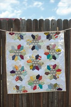 http://www.etsy.com/listing/75088545/colorful-modern-baby-quilt-floor-wall