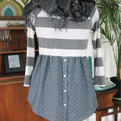 Give a Boxy Sweater and Shirt a Feminine Silhouette | eHow Crafts | eHow