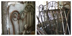 ❥ Far Above Rubies: Saving the antique iron bed...