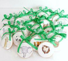 Ideia para bolachas de animais da quinta pintados -  Have Some Sugar