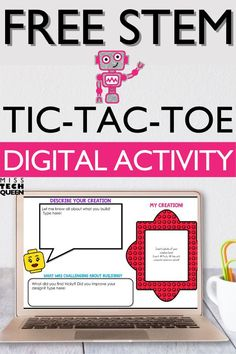 Need a free, interactive digital STEM activity for your elementary classroom? Your students will love this fun, engaging Tic-Tac-STEM activity! Perfect for large group, small groups, or distance learning, I love using this digital learning freebie in my classroom.