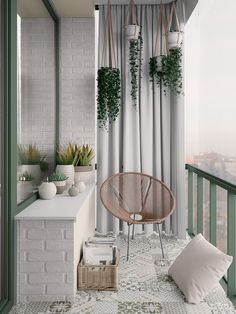 Scandinavian style interior infused with garden green and terrace outd . Scandinavian style interior infused with garden green and terrace outdoor living Decor, Small Balcony Decor, Natural Home Decor, Interior, Scandinavian Style Interior, Living Decor, Rustic Flooring, Balcony Tiles, Cozy Apartment