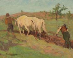 Kai Fine Art is an art website, shows painting and illustration works all over the world. Post Impressionism, Impressionist, Old Master, Master Art, Art Database, French Art, Cattle, Farm Animals, Art Gallery