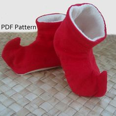 Elf Baby Shoe Pattern  PDF Download by waterandspiritdoula on Etsy, $4.50