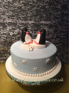 Having a natter penguins! by Penny Sue