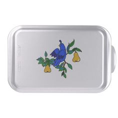 Partridge In A Pear Tree Cake Pan http://www.zazzle.com/partridge_in_a_pear_tree_cake_pan-256718164347937805?rf=238271513374472230   #christmas  #christmasdécor