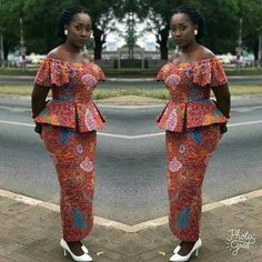 Looking for the Best Ankara skirt and blouse styles? Pictures of The Latest Ankara Skirt and Blouse Styles in […] African Lace Styles, Latest African Fashion Dresses, African Print Dresses, African Dresses For Women, African Print Fashion, African Attire, Ankara Fashion, Ankara Styles, Africa Fashion