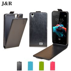 HOMTOM HT16 Leather Case Flip Cover For HOMTOM HT16 5.0 inch Protective Phone Cover Luxury J&R Vertical Mobile Phone Bag & Cases //Price: $5.19//     #shopping