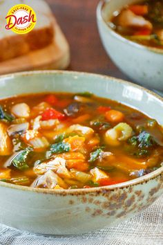 Best Soup Recipes, Chowder Recipes, Chili Recipes, Dinner Recipes, Healthy Recipes, Veg Soup, Vegetable Soup With Chicken, Chicken And Vegetables, Clear Vegetable Soup
