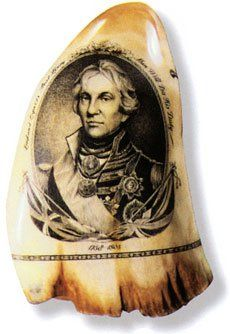 Scrimshaw The employment of whale teeth originally emerged in the form of tools… Ship Figurehead, Cork Art, Vintage Nautical, Nautical Theme, Bone Carving, Large Animals, Naive Art, Ivoire, Ancient Art