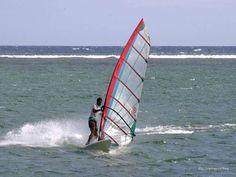 Planche à voile à La Réunion