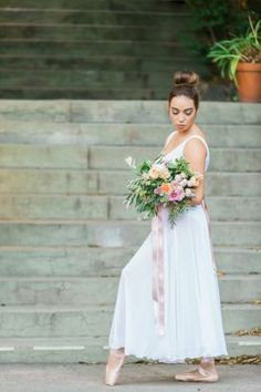 French Ballet Wedding Inspiration   Photo by Samantha Ong http://www.samanthaongphoto.com/
