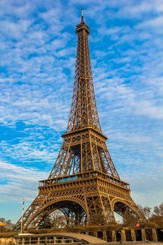 Eiffel Tower Paris France. had dinner at the altitude restaurant