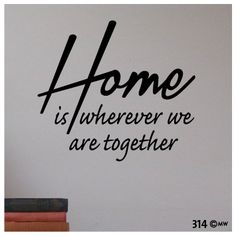 interieursticker-muursticker Home is Wifi Connect, We Are Together, My Dream Home, Wall Stickers, Quotations, Lyrics, Sweet Home, Quotes, Content