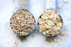 This oatmeal recipe made in an Instant Pot makes make-ahead oatmeal so easy that it's become my new favorite method for both steel cut oats and rolled oats! The Oatmeal, Make Ahead Oatmeal, Baked Oatmeal, Instant Pot Oatmeal Recipe, Oatmeal Recipes, Crunch Challenge, Old Fashioned Oatmeal, Almond Breeze, Steel Cut Oats