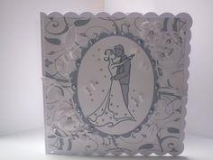 Romadoll Loves Cardmaking: Wedding Card