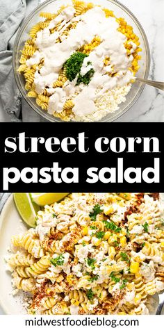 Mexican Food Recipes, Vegetarian Recipes, Dinner Recipes, Cooking Recipes, Healthy Recipes, Corn Recipes, Fresco, Corn Pasta, Pasta Salad Recipes