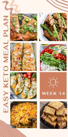 Five keto dinners + a bonus dessert! Everything is planned out for you--Most meals are ready in 30 minutes or less! Printable meal plan and shopping list ready to download! Asian Recipes, Keto Recipes, Dinner Recipes, Ethnic Recipes, Food Dishes, Main Dishes, Easy Keto Meal Plan, Keto Friendly Desserts, Keto Dinner