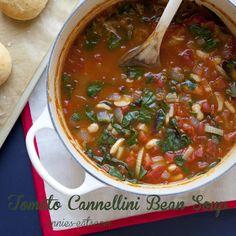 Tomato Cannellini Bean Soup | Annie's Eats