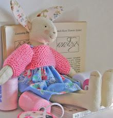 "little maisie knitty bunny from Helen Phillips I was really trying to Pin ""Winter Winnie,"" but I struggle..... :("
