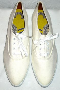Vintage 60s era Keds pointy sneakers tennis shoes size 7 new old stock unworn by sweetalicelovesyou on Etsy