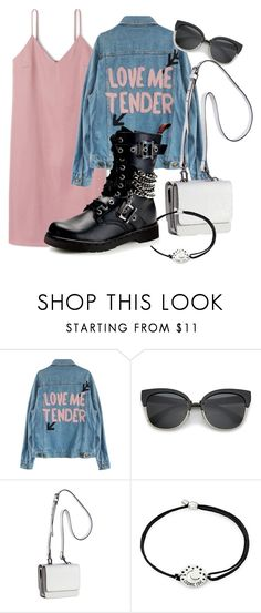 """xx"" by pauloskompanieros on Polyvore featuring Kendall + Kylie, Alex and Ani and Demonia"