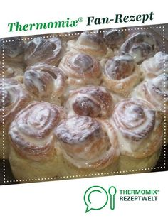 Cinnamon rolls from KittySamt. A Thermomix ® recipe from the baking category . - Cinnamon rolls from KittySamt. A Thermomix ® recipe from the category baking sweetwww. Authentic Mexican Recipes, Mexican Dinner Recipes, Baby Food Recipes, Fall Recipes, Baking Recipes, Dessert Recipes, Crepe Recipes, Cinnamon Rolls, Vegetarian Recipes