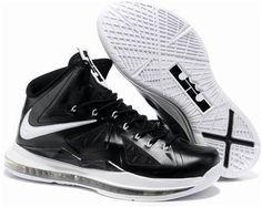 online store ed613 ea660 Nike Lebron 10 White Black Nike Lebron, Lebron 11, Lebron James 10, Sneakers