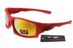 Oakley Deringer Sunglasses Big Red Frame Colorful Lens 0211 [oakley 0211] - $24.90 : Ray-Ban And Oakley Sunglasses Online Store