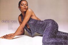 Diana Ross in Bob Mackie. Diana always liked a looser fit for stylistic reasons, and Mackie obliged. Diana Ross, Kate Barry, Diane Arbus, Hip Hop And R&b, Bob Mackie, Fashion Catalogue, Lady Diana, Michael Jackson, My Idol