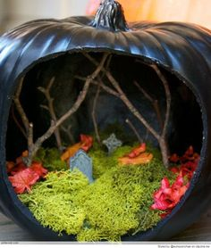 Cool Pumpkin Carving Ideas Beautiful idea!
