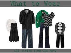 What to Wear for Family photos Fall and Winter 2011