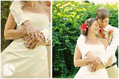 lesbian butch femme wedding photography - love the shot of the hands on the left especially http://media-cache5.pinterest.com/upload/15340454950209927_ALoxyWjf_f.jpg amybethmorris our little elopement