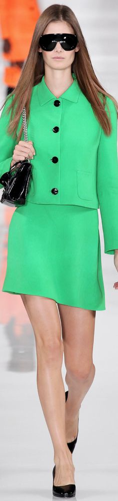 RALPH LAUREN SPRING 2014 RTW                                                TO VIEW THE ENTIRE COLLECTION VISIT STYLE.COM                   ...