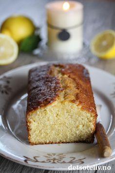 Dynket sitronkake | Det søte liv Banana Bread, Desserts, Recipes, Food, Tailgate Desserts, Deserts, Essen, Postres, Dessert