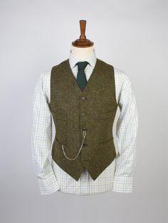 Donegal Tweed Waistcoat