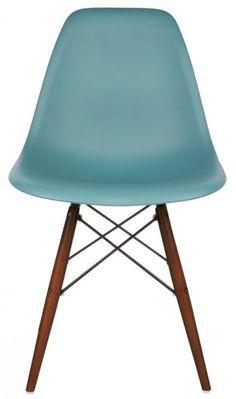 Lovely Replica Eames DSW Side Chair In Plastic   Matt Blatt