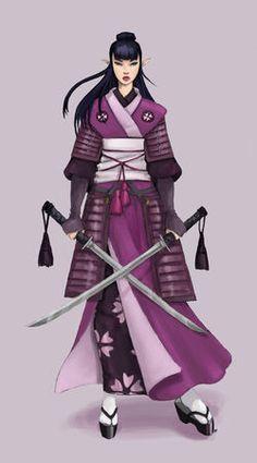 jade elf samurai