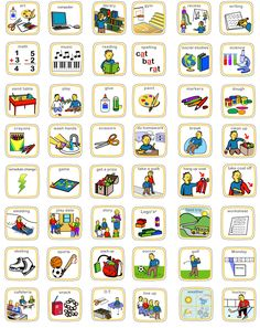 Visual Schedule For Autistic Children  Example Daily School