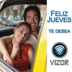 #Vizor Te desea un #FelizJueves #Servicio #App #VizorMobil @Vizormobil   www.vizormobil.com