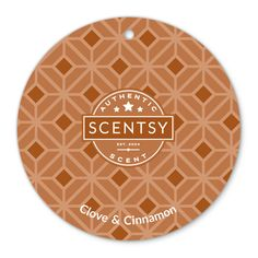 Clove and Cinnamon Scentsy Scent Circle $3.  Classic scent of cinnamon sticks fused with cloves.