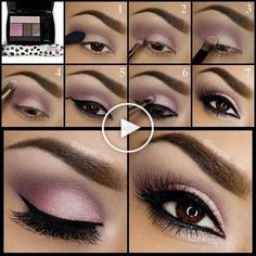 7 Glamorous Prom Makeup Ideas Youll Love (With Tutorials)! Prom Makeup For Brown Eyes Glamorous Ideas Love makeup Prom Tutorials youll Purple Eye Makeup, Smokey Eye Makeup, Makeup For Brown Eyes, Smoky Eye Makeup Tutorial, Eye Tutorial, Best Eyeshadow, Eyeshadow Makeup, Eyeshadow Palette, Lila Make-up