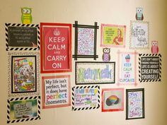 washi tape hang pictures on wall