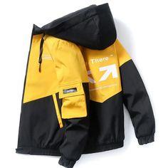 Streetwear, Hooded Bomber Jacket, Men's Jacket, Tactical Jacket, Hip Hop, Mens Windbreaker, Autumn Clothes, Spring Jackets, Boys And Girls Clothes