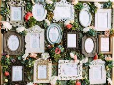 10 divinas ideas para un tablero de bodas 2017. ¡Indica las mesas con estilo!